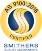 Smither's AS 9100:2016 Certification